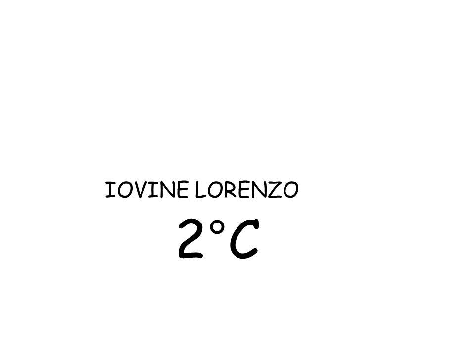 IOVINE LORENZO 2°C