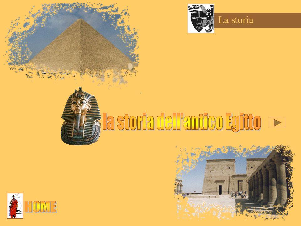 la storia dell antico Egitto