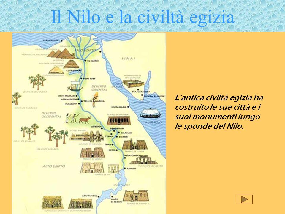 Il Nilo e la civiltà egizia