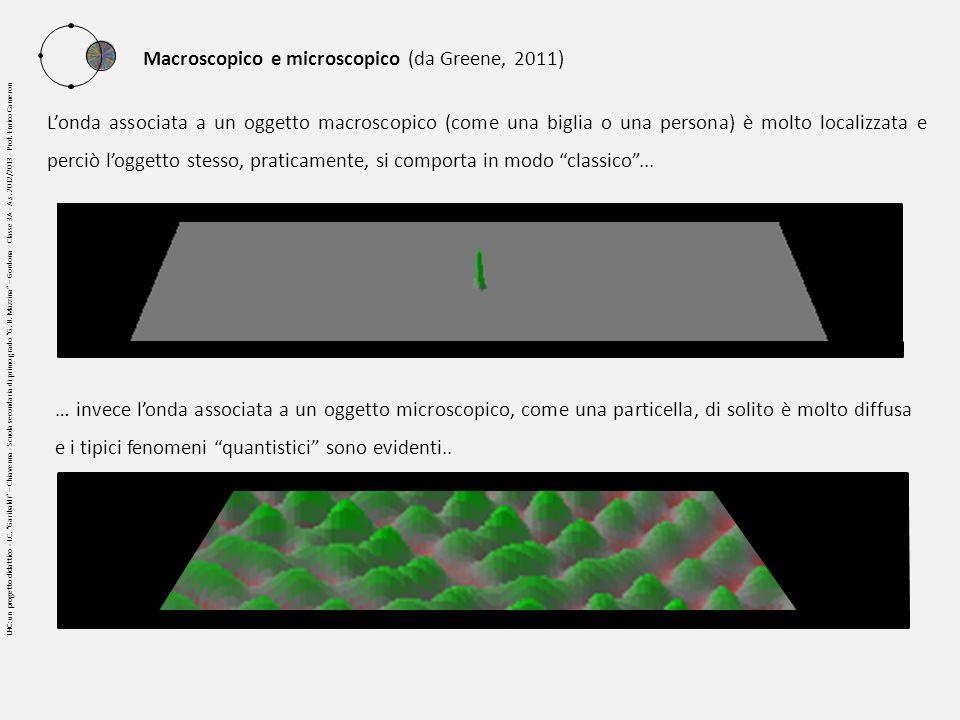 Macroscopico e microscopico (da Greene, 2011)