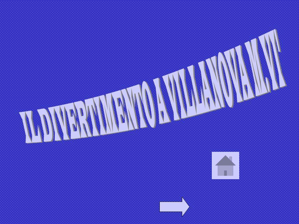 IL DIVERTIMENTO A VILLANOVA M.VI
