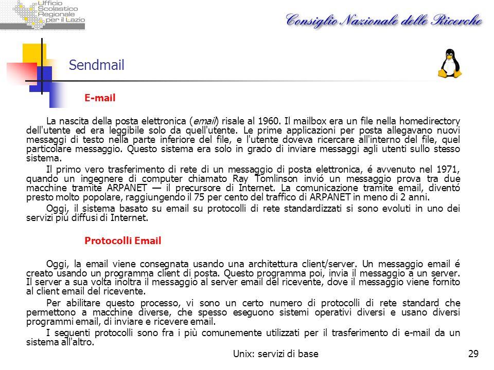Sendmail E-mail.