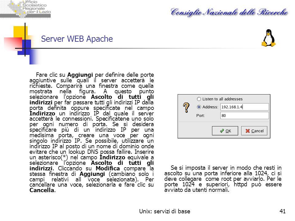 Server WEB Apache