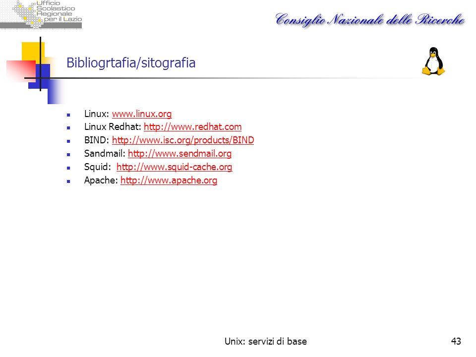 Bibliogrtafia/sitografia