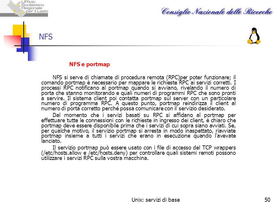 NFSNFS e portmap.