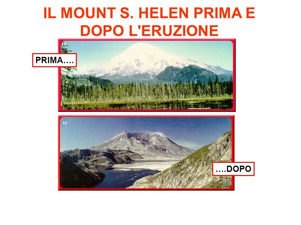 IL MOUNT S. HELEN PRIMA E DOPO L ERUZIONE