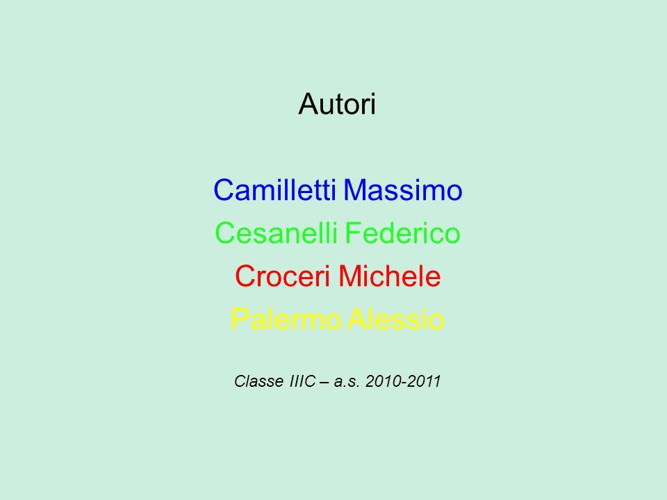 Autori Camilletti Massimo Cesanelli Federico Croceri Michele