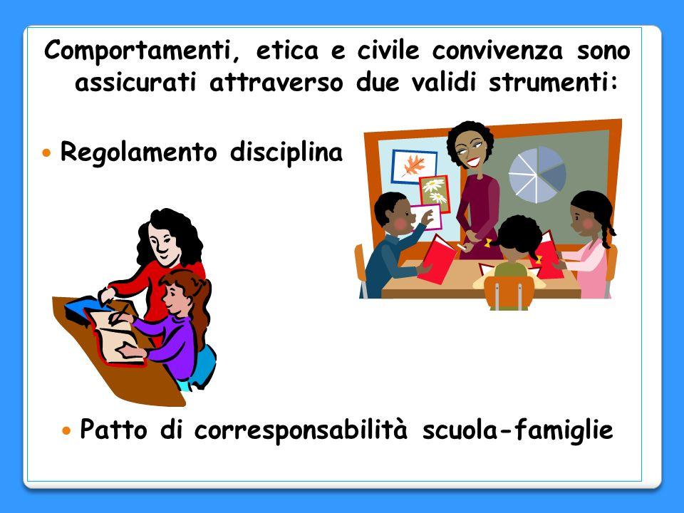 Patto di corresponsabilità scuola-famiglie