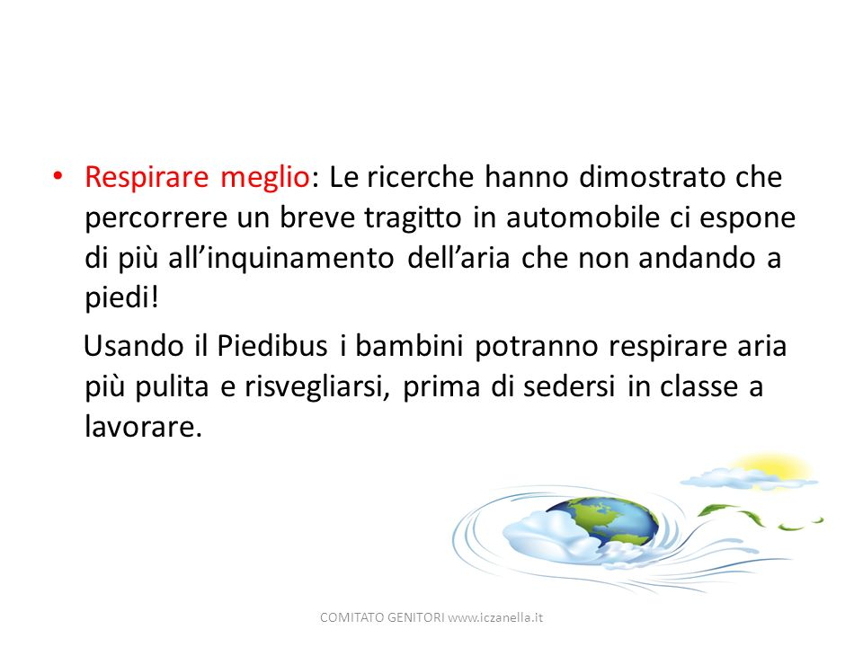 COMITATO GENITORI www.iczanella.it