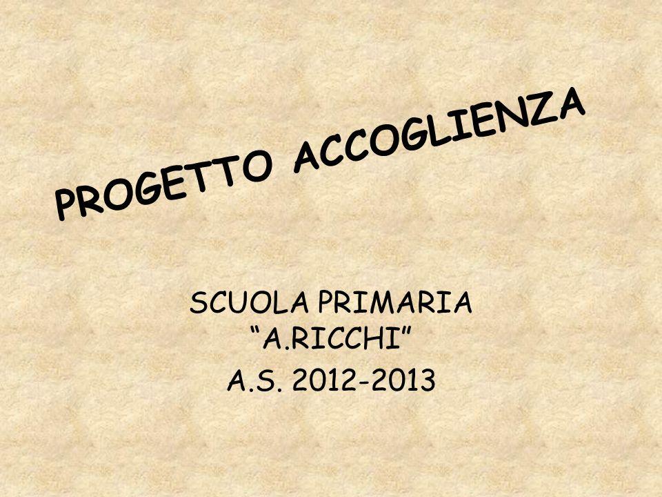SCUOLA PRIMARIA A.RICCHI A.S. 2012-2013