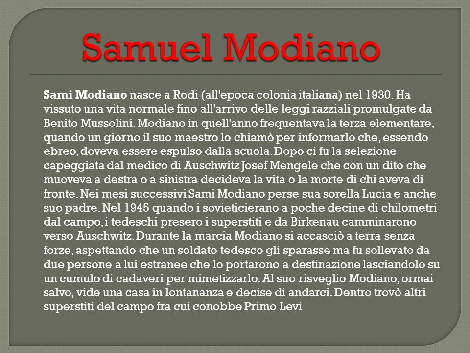 Samuel Modiano