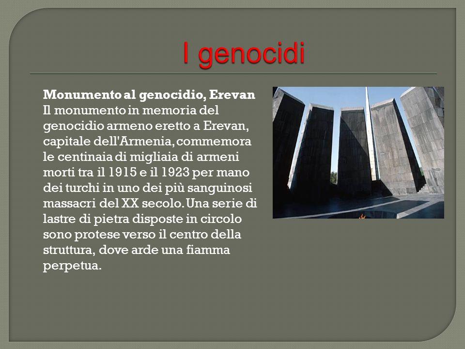 I genocidi Monumento al genocidio, Erevan
