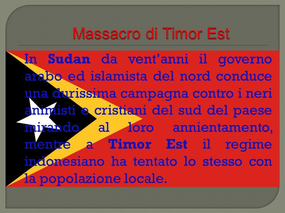Massacro di Timor Est