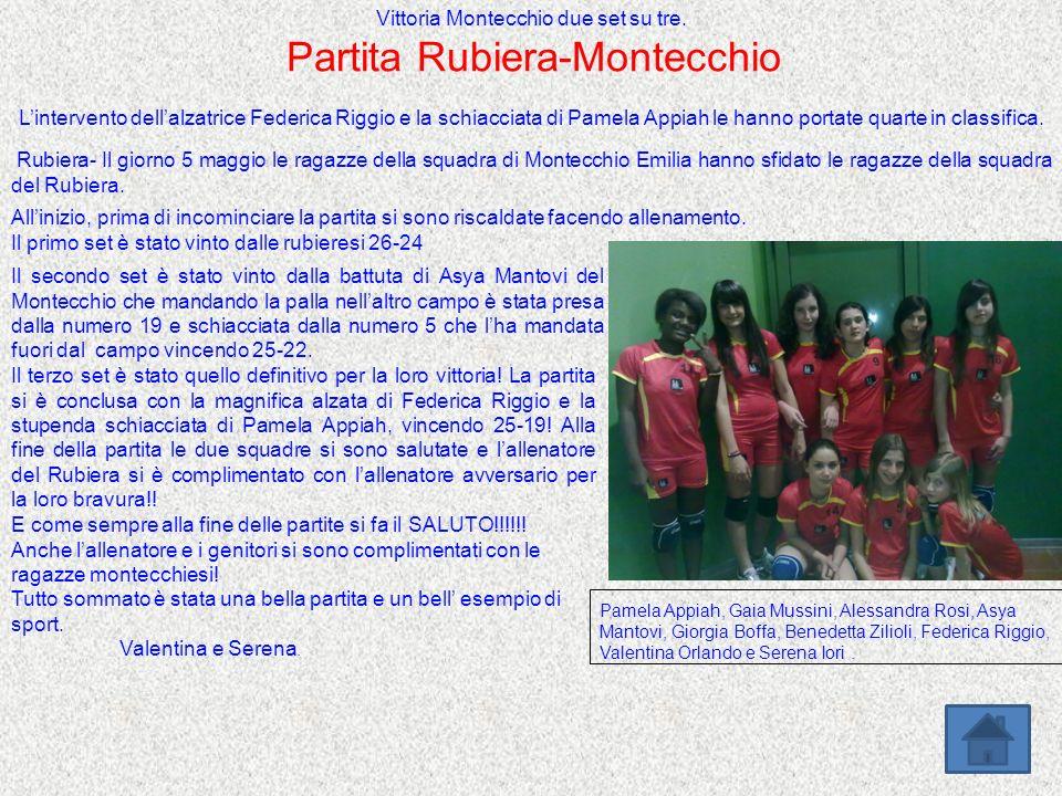 Partita Rubiera-Montecchio
