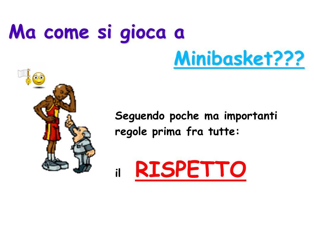 Ma come si gioca a Minibasket Seguendo poche ma importanti