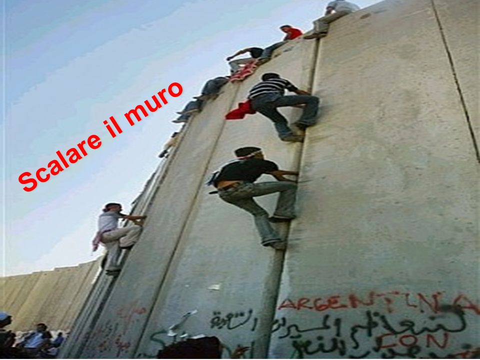 Scalare il muro
