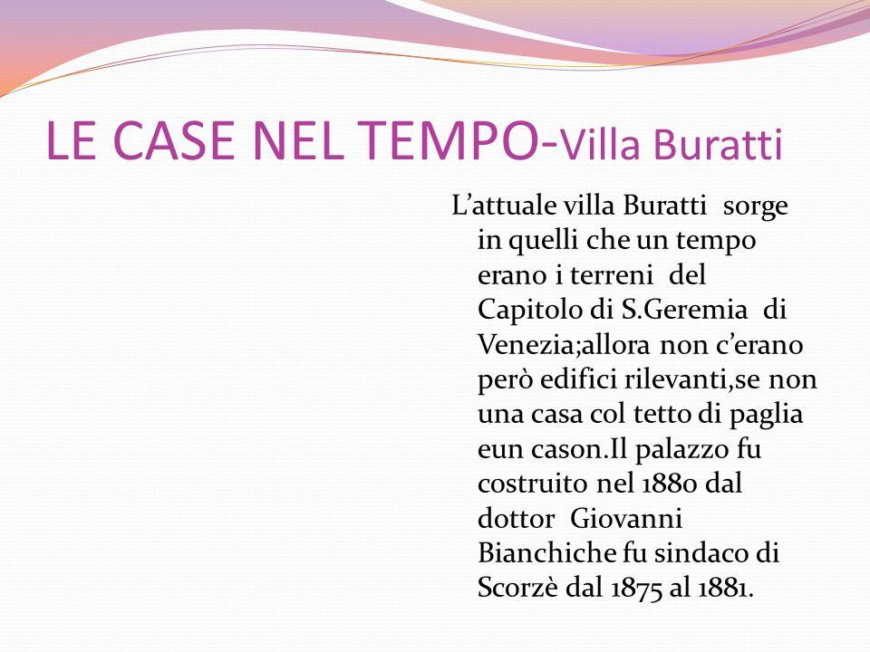 LE CASE NEL TEMPO-Villa Buratti