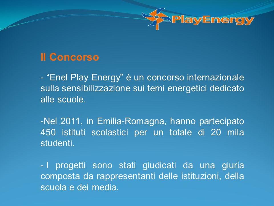Il Concorso- Enel Play Energy è un concorso internazionale sulla sensibilizzazione sui temi energetici dedicato alle scuole.
