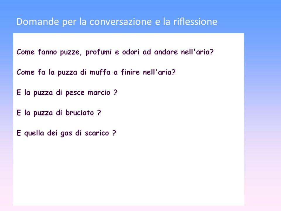 Domande per la conversazione e la riflessione