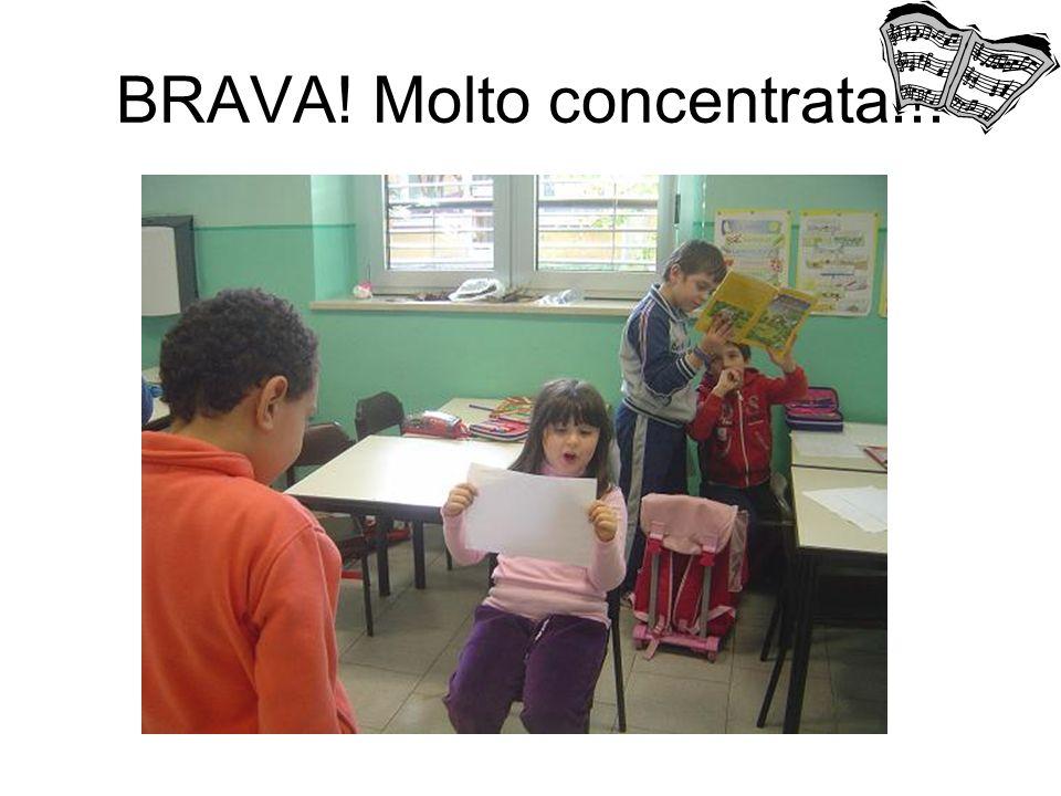 BRAVA! Molto concentrata!!!