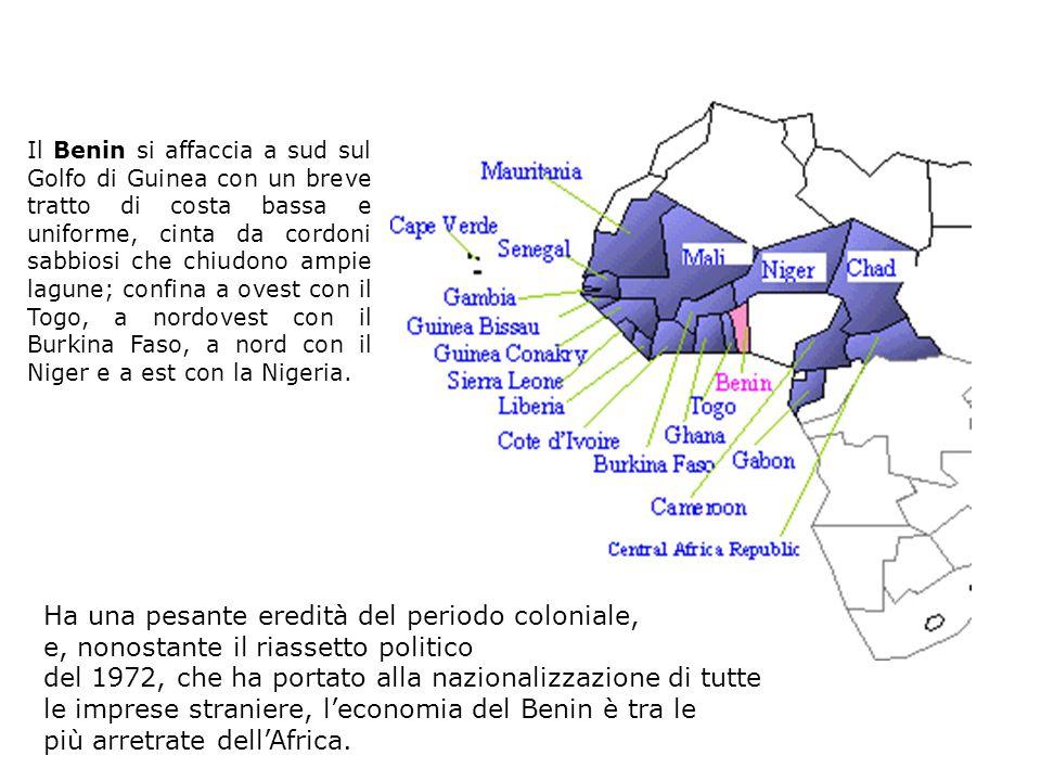 benin Ha una pesante eredità del periodo coloniale,