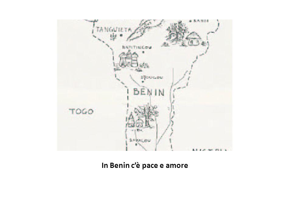 In Benin c'è pace e amore