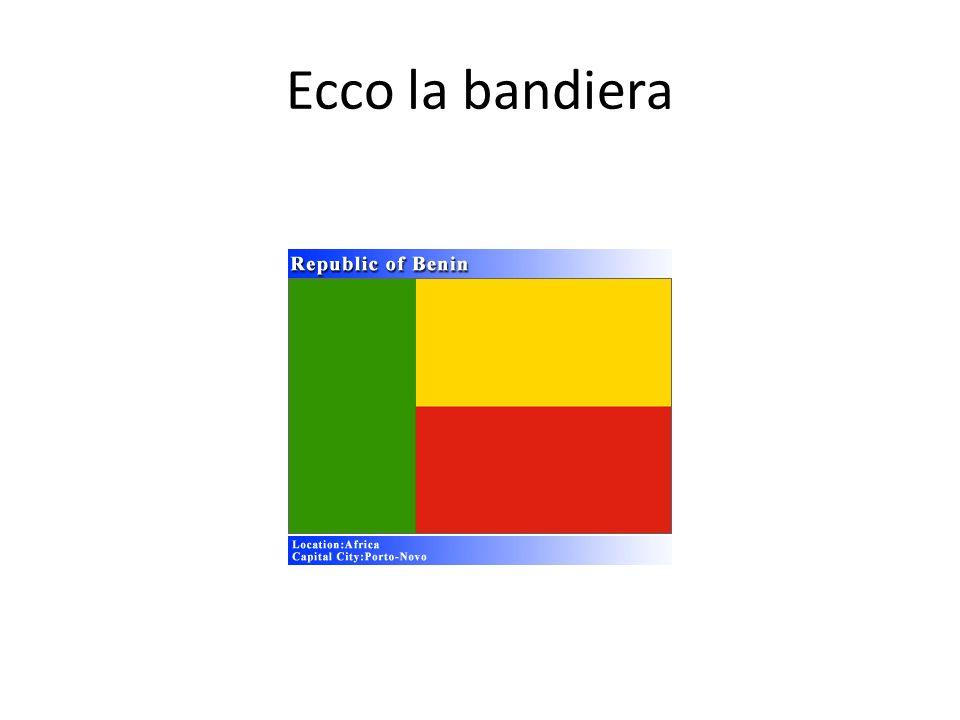 Ecco la bandiera