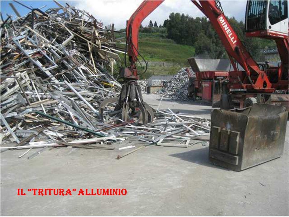 Il tritura alluminio