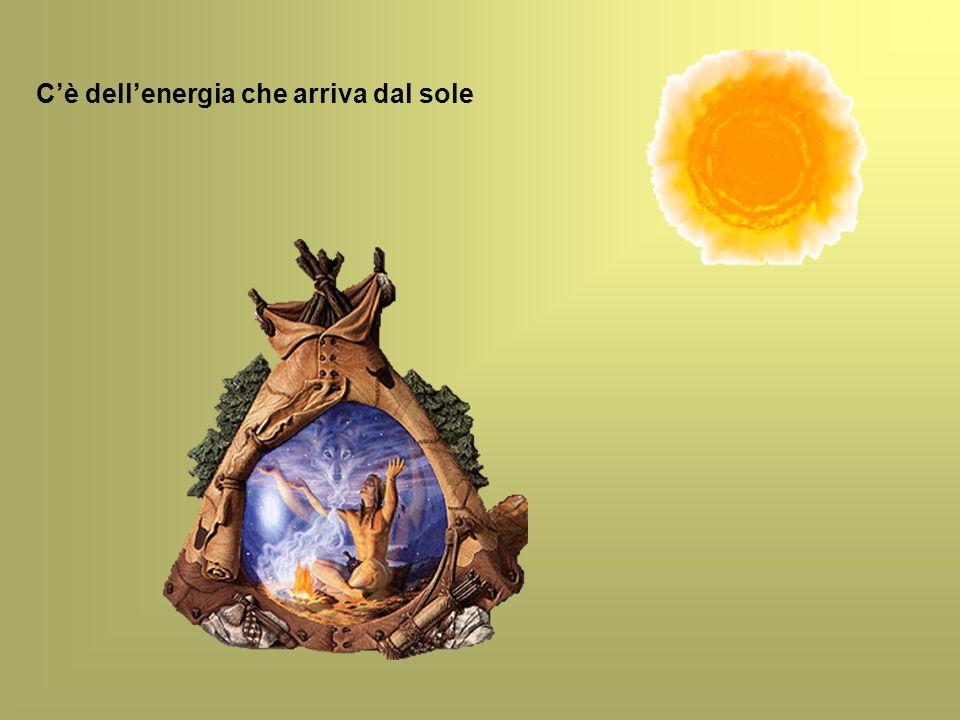 C'è dell'energia che arriva dal sole