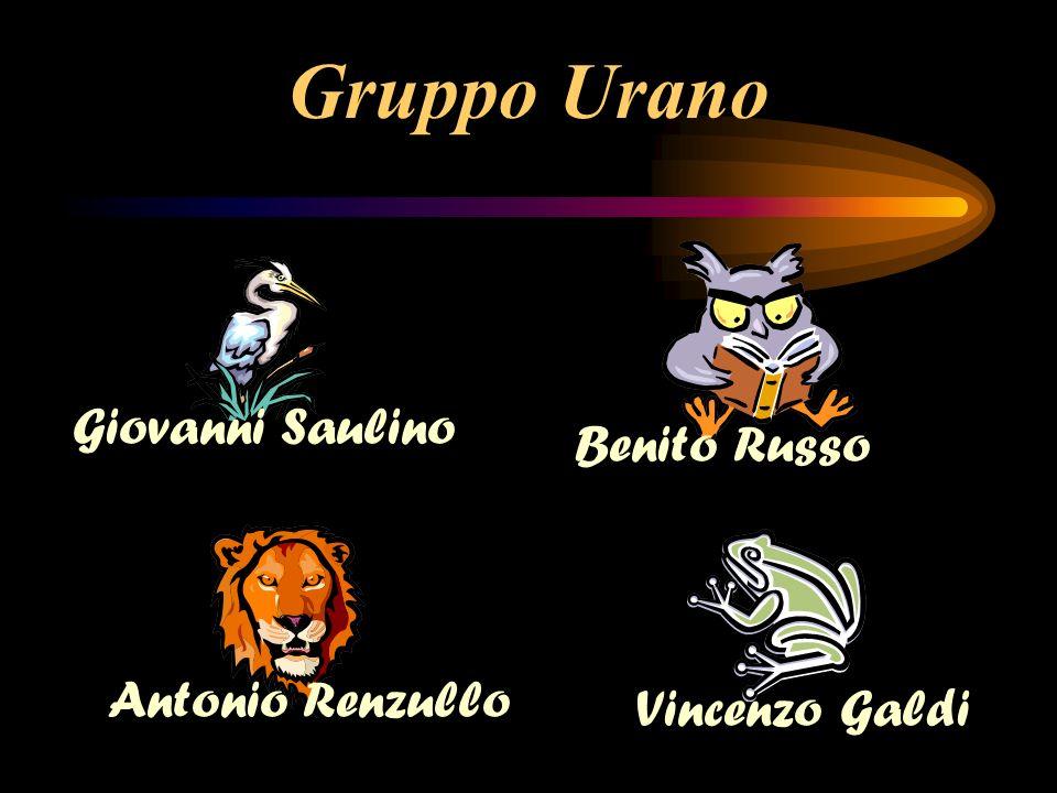 Gruppo Urano Giovanni Saulino Benito Russo Antonio Renzullo