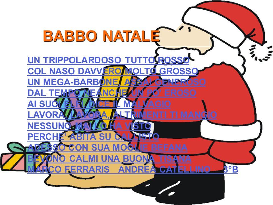 BABBO NATALE UN TRIPPOLARDOSO TUTTO ROSSO