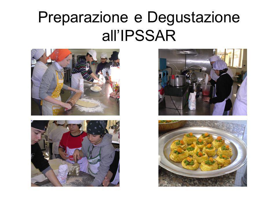 Preparazione e Degustazione all'IPSSAR