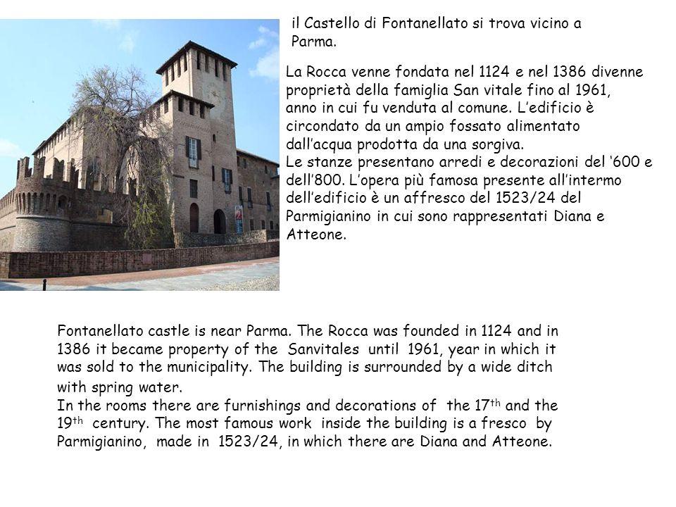 il Castello di Fontanellato si trova vicino a Parma.