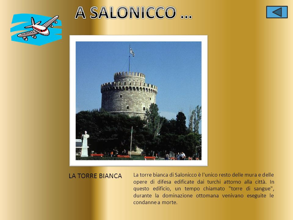 A SALONICCO … LA TORRE BIANCA