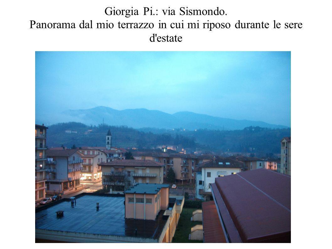 Giorgia Pi. : via Sismondo