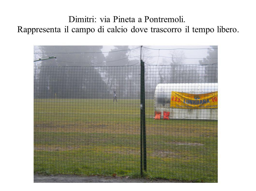 Dimitri: via Pineta a Pontremoli