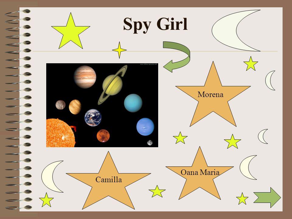 Spy Girl Morena Oana Maria Camilla