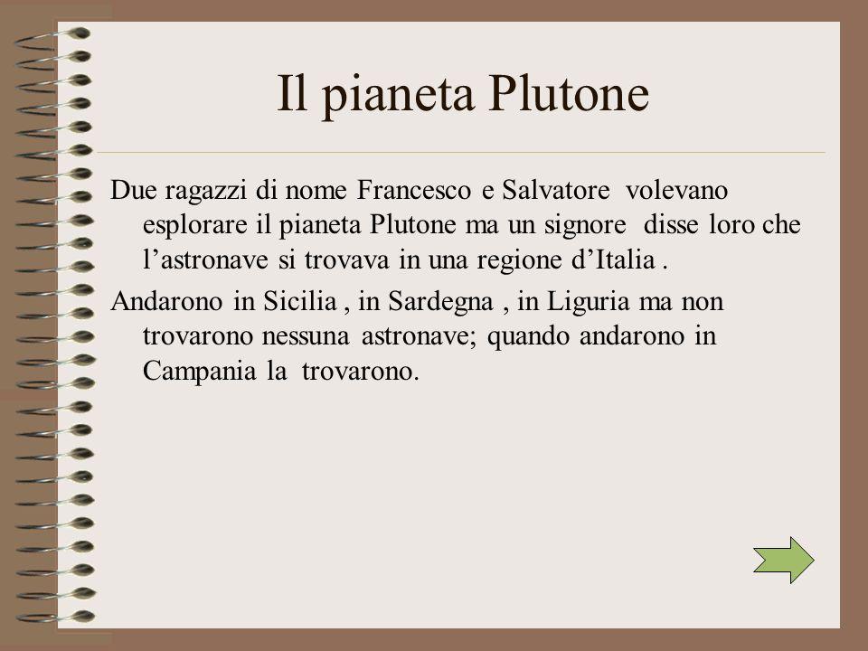 Il pianeta Plutone