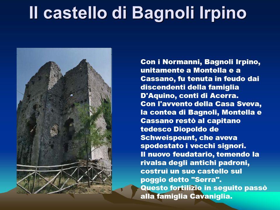 Il castello di Bagnoli Irpino