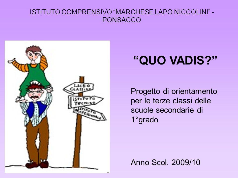 ISTITUTO COMPRENSIVO MARCHESE LAPO NICCOLINI - PONSACCO