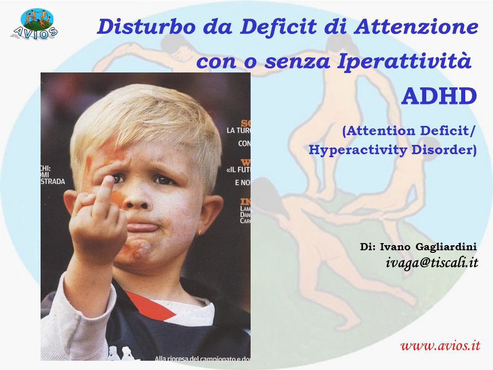 ADHD Presentazione (Attention Deficit/