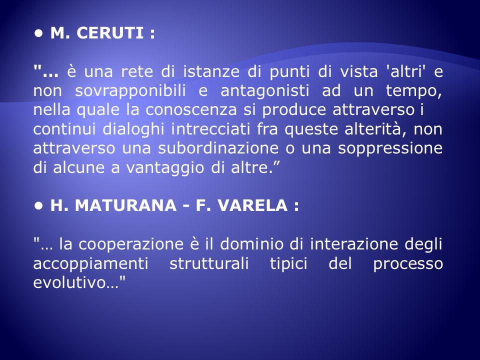 • M. CERUTI :