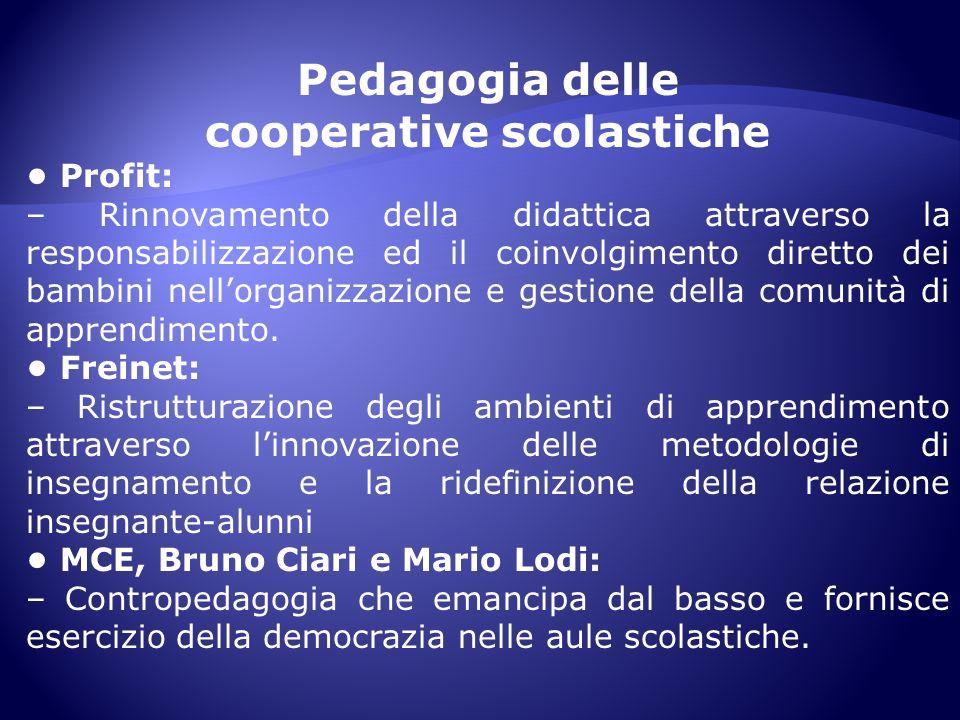 cooperative scolastiche