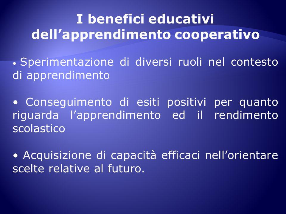 dell'apprendimento cooperativo