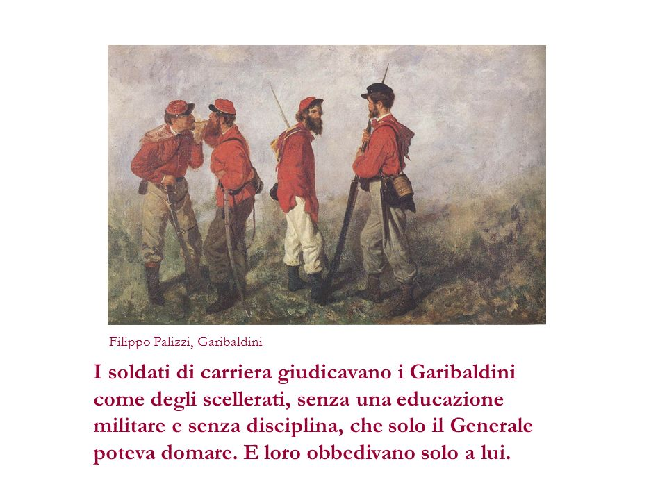 Filippo Palizzi, Garibaldini