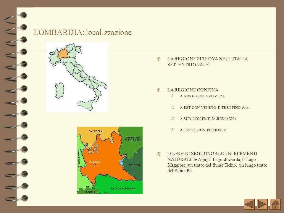LOMBARDIA: localizzazione