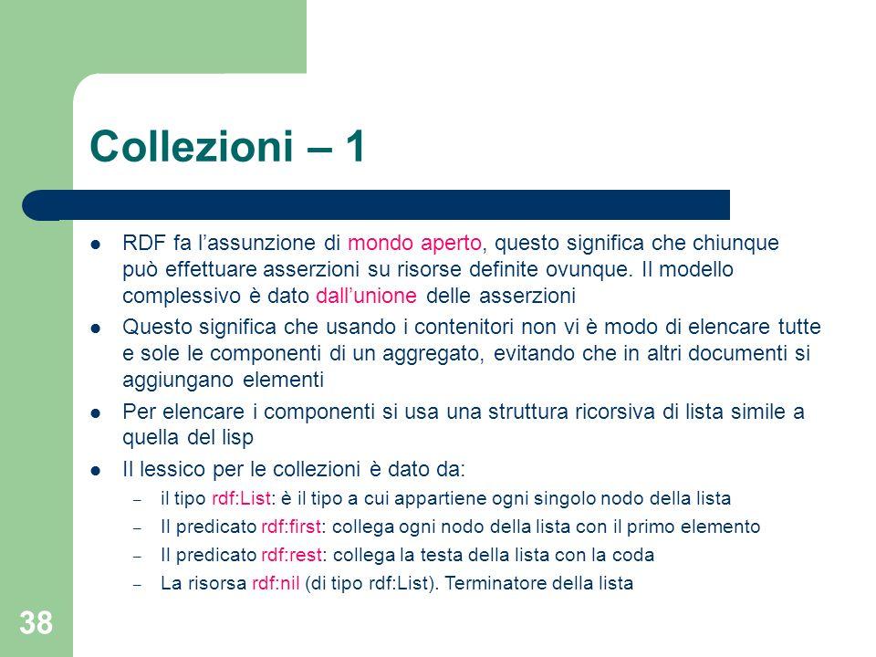 Collezioni – 1