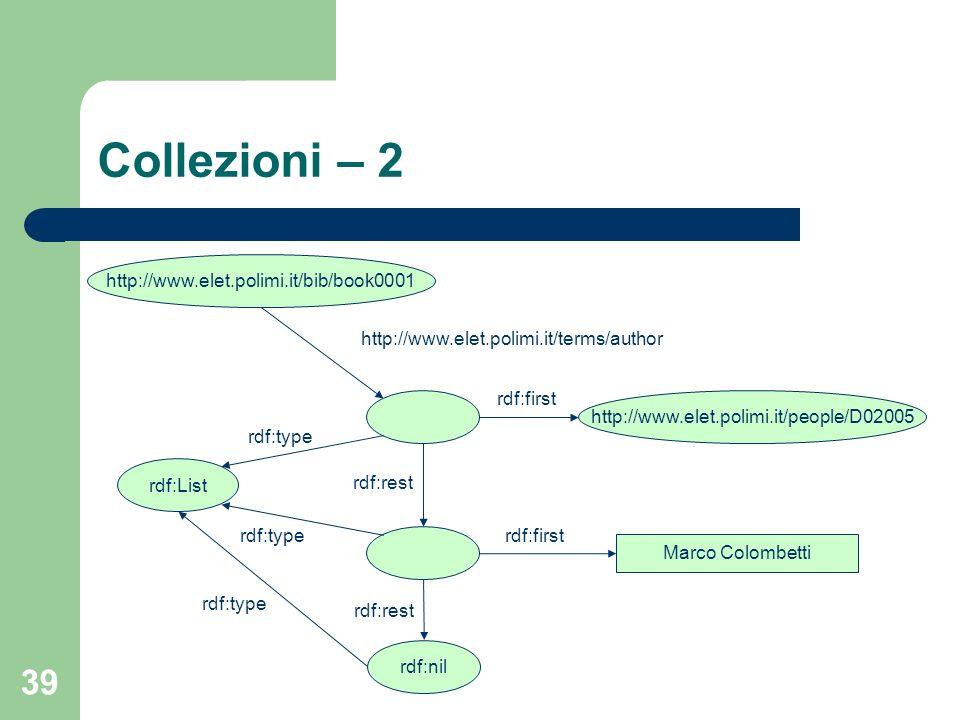 Collezioni – 2 http://www.elet.polimi.it/bib/book0001