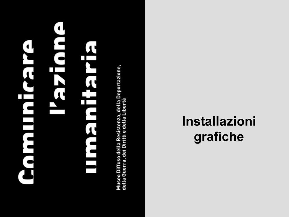 Installazioni grafiche