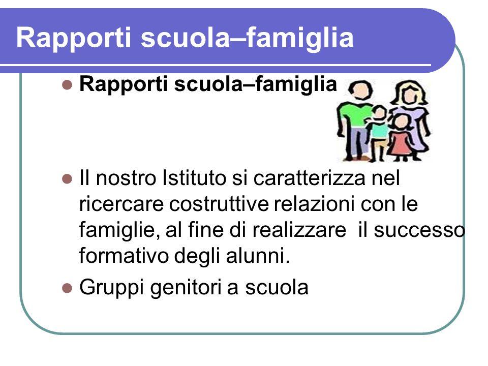 Rapporti scuola–famiglia